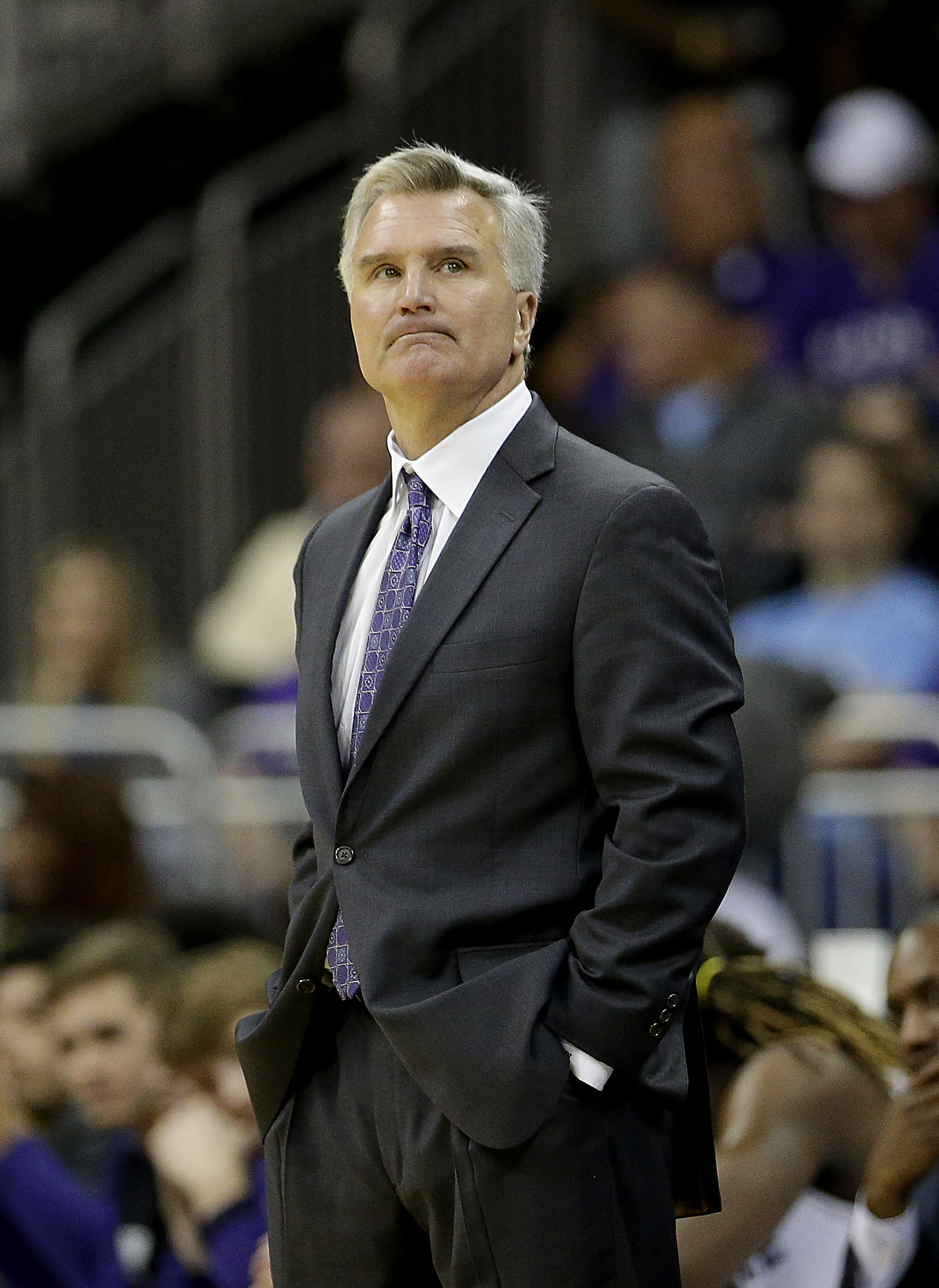 Column: K-State fans find odd unity within basketball ... Bruce Weber
